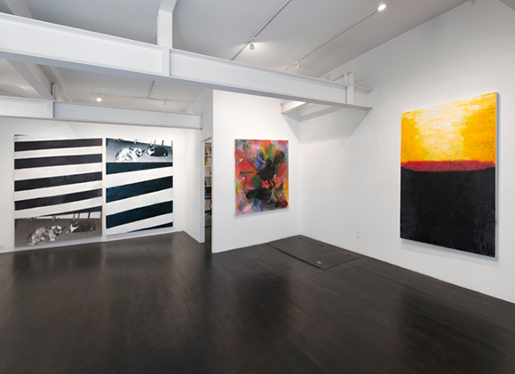 Rochelle Feinstein, Rochelle Feinstein, 2013, On Stellar Rays, New York, NY, exhibition documentation
