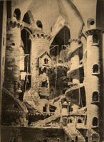 Piranesi State1, 2008; Photogravure tea stained, 22 x 16 in.5