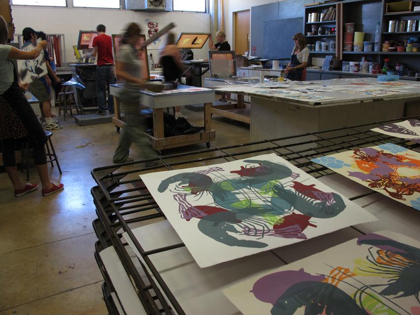 Areas_Print_Art 361 Mandala printing