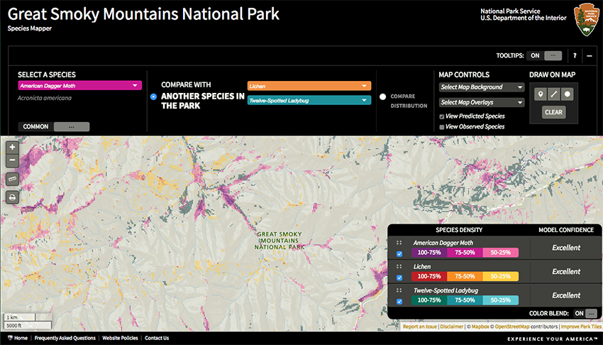 Design Professor Helps Develop Visualization Tool for Great Smoky Mountain National Park