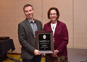 Harrill Honored at Annual Faculty Awards Banquet